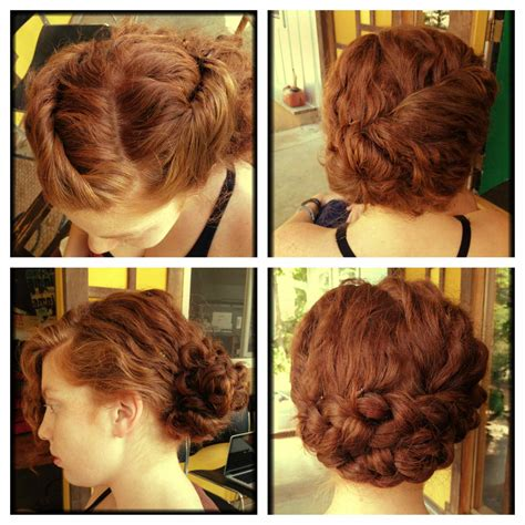 easy diy hairstyles for long curly hair how to hair girl vintage updos for curly hair archives