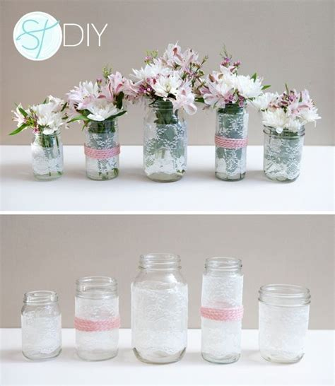 inexpensive wedding table centerpieces mason jars