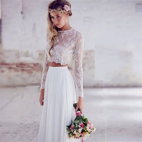 white lace prom dress white lace two prom dress naf dresses