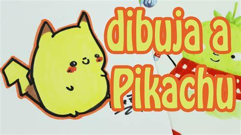 fenomenales dibujos de pokemon para imprimir r 225 pidamente c 243 mo dibujar a pikachu de pokemon kawaii how to draw a