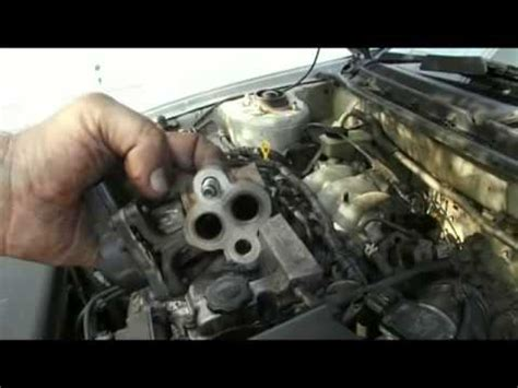 mazda   petrol egr valve removal cleaning youtube