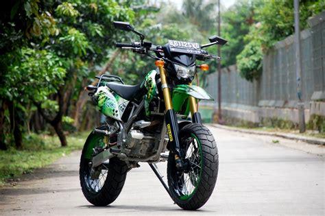 Kawasaki Motard by Klx Supermoto The Green Skull Gilamotor