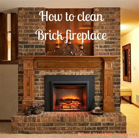 cleaning fireplace 25 best ideas about cleaning brick fireplaces on