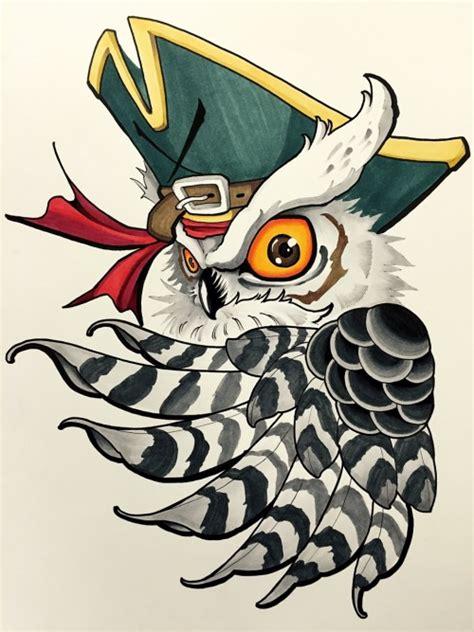 new school owl tattoo designs new school owl design
