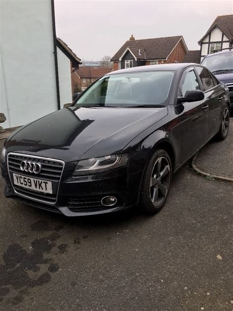 Audi A4b8 by Audi A4 B8 1 8tfsi S Line Black Edition 2009 In