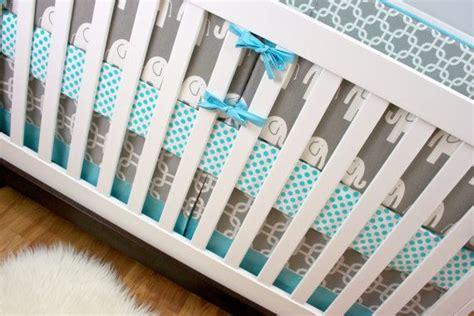 modern elephant crib bedding crib bedding aqua gray elephant crib bedding baby