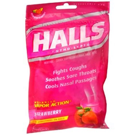 couch drops com halls cough drop strawberry 30 each health