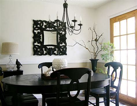 black dining room table and chairs 10 beautiful dining room design ideas