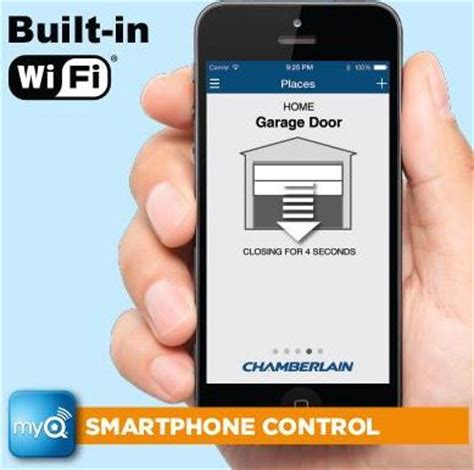 App Enabled Garage Door Opener Best Smartphone Enabled Wifi Garage Door Openers 2017 2018