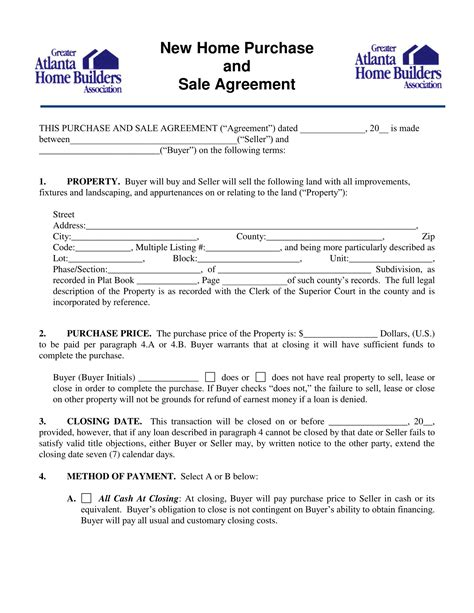 10 purchase forms vehicle purchase business purchase