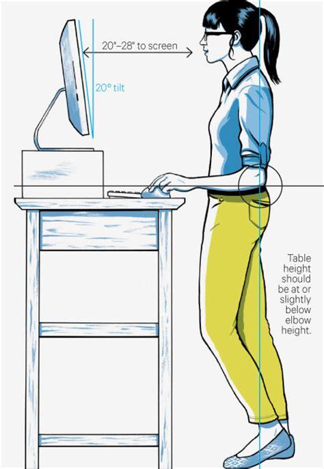 escritorios de pie 5 beneficios de los escritorios para trabajar de pie