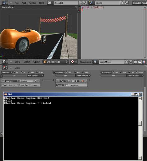 blender 3d python tutorial python scripting for the blender game engine cg masters
