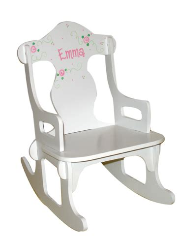 Personalized Baby Chair by Childrens Rocking Chairs