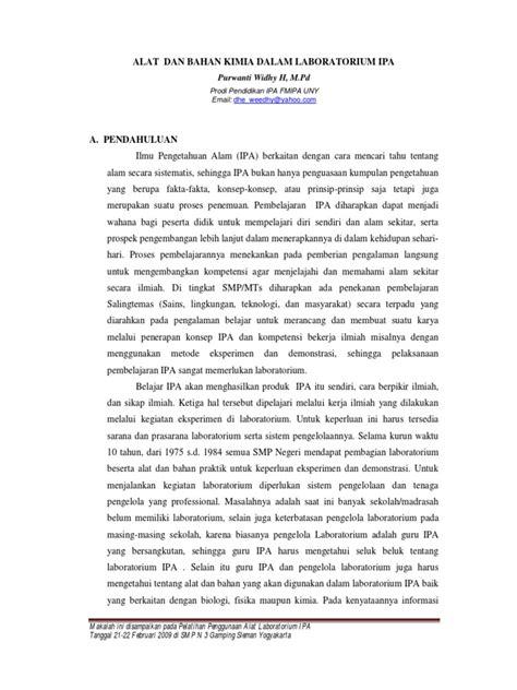 Ilmu Dan Teknologi Bahan Edisi Kelima By H Vlack alat dan bahan kimia dalam lab ipa