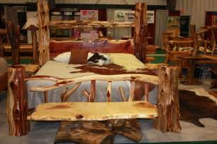 log furniture bedroom sets log bedroom sets for
