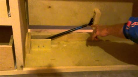 tv cabinet lift mechanism diy tv lift youtube