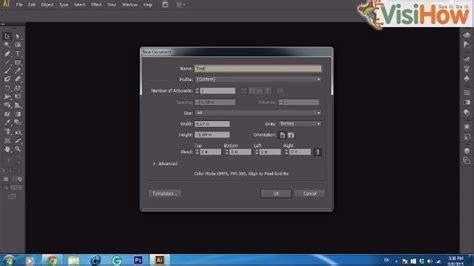 adobe illustrator cs6 not saving create a new document in adobe illustrator cs6 visihow