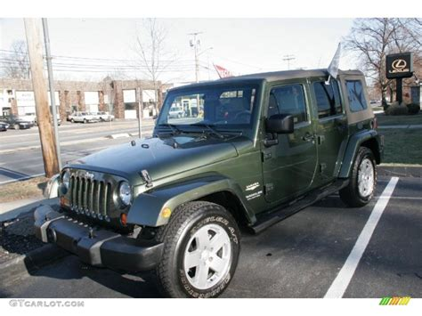jeep green metallic 2007 jeep green metallic jeep wrangler unlimited