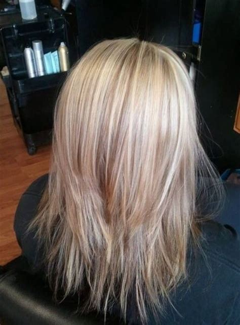 images of four equal layers haircut layered mid length hair cut mid legnth hair cuts