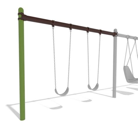 single post swing single post swing frame additional bay