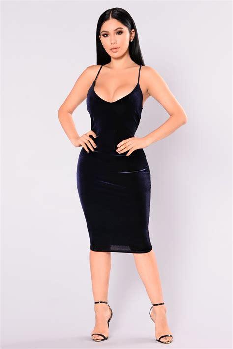 Vania Midi Dress womens dresses maxi mini cocktail denim club