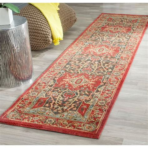 safavieh mahal 2 ft 2 in x 10 ft runner rug mah625d