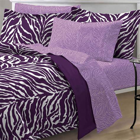 zebra size bedding set purple zebra bedding and comforter sets