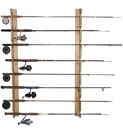 Fishing Pole Storage Rack by Horizontal Fishing Rod Storage Rack In Sports Equipment