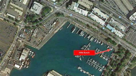 ala wai boat harbor slip map 41 wild bunch hawaii deep sea fishing