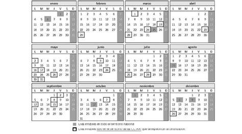 Calendario Hacienda 2017 Costa Rica Calendario Laboral Calendario De D 237 As Inh 225 Biles 2016