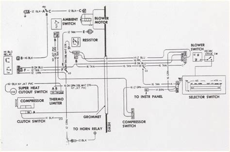 air horn wiring diagram compressor wiring diagram