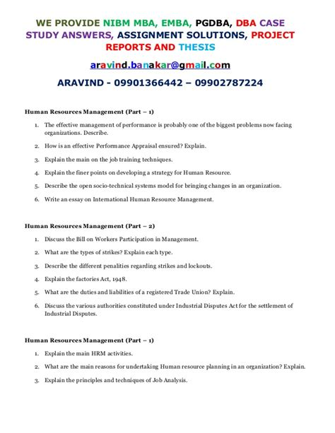 Nibm Mba Student Login by Explain The Hrm Activities