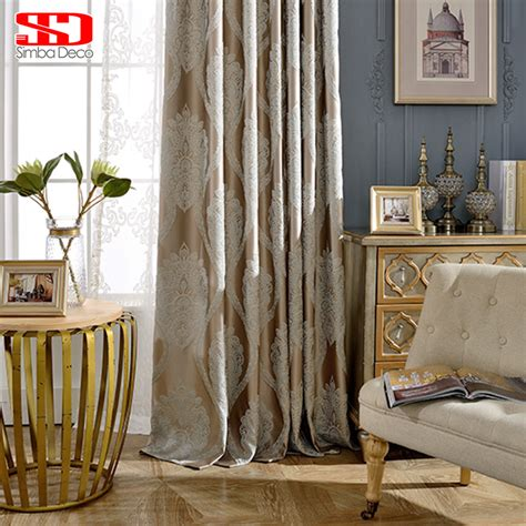 luxury blackout curtains european luxury blackout curtains for living room bedroom