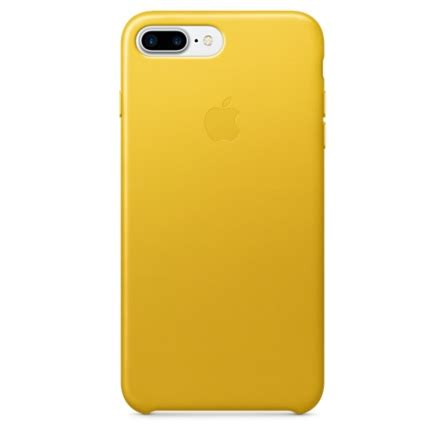 apple iphone 7 silicone yellow