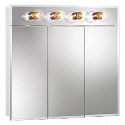white medicine cabinet with lights 755435 white ashland medicine cabinet 4 lights