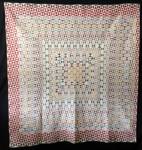 Thin Quilt Batting by Antique 1860 Hourglass Quilt Ebay