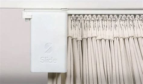 smart curtains the slide smart curtain promises to make your old curtains