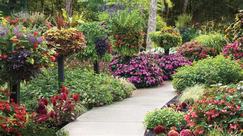 6 add height with planters and baskets 10 best landscaping ideas southern living