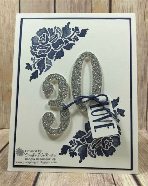 Platform Gift Card Boxes - just sponge it happy 30th anniversary to patty and eric floral phrases bundle st