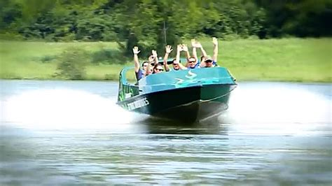 cool down with a jet boat adventure on the french broad river - Jet Boat Adventures Sevierville Tn