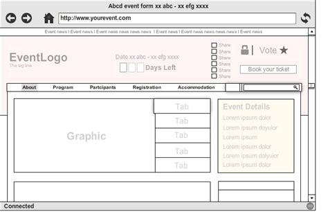 Event Design Framework | how to create event website lessons from top web designers