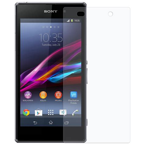 Sony Xperia Go St27i Clear Screen Guard amzer 174 clear screen protector for sony xperia z1 l39h