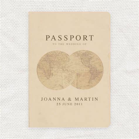 passport wedding program template passport wedding program template antique chic