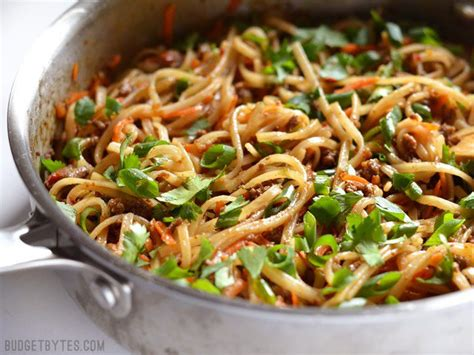 best wok for stir fry stir fry beef noodles budget bytes