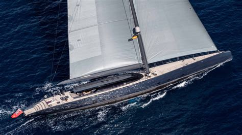 yacht ngoni in pictures royal huisman ngoni sailing yacht robb report