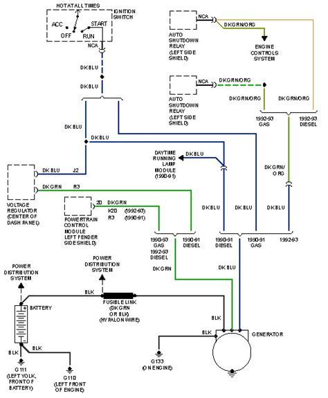 1993 dodge d250 wiring diagram d free printable wiring