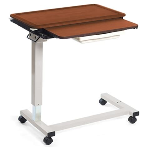 hospital bed tray table with drawer overbed tables find hospital bedside trays with