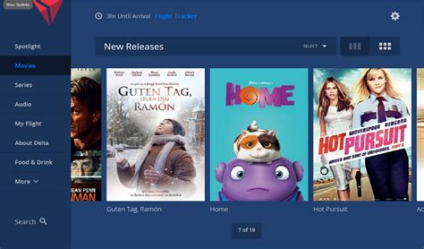 delta flight entertainment in flight entertainment to get new look like interacting