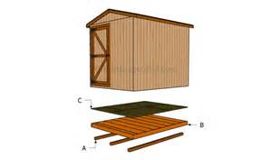 how to build a shed floor howtospecialist how to build