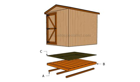 How To Make Shed Floor by How To Build A Shed Floor Howtospecialist How To Build